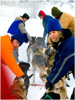 Dog Sled Mail Run 2012